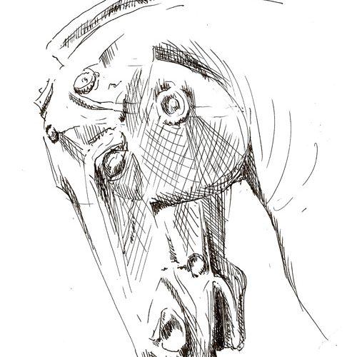 Pferdekopf Pergamon